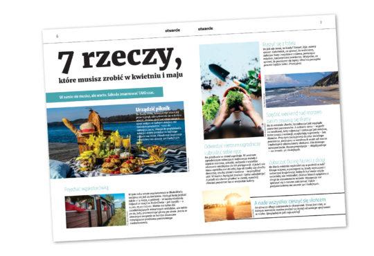 7 rzeczy, które musisz zrobić w kwietniu i maju. Magazyn67. Fot. Marcin Maziarz