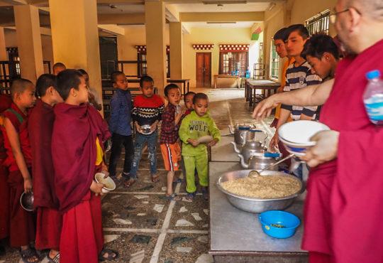 Klasztor buddyjski w Katmandu. Fot. Agnieszka Rujner-Markowska