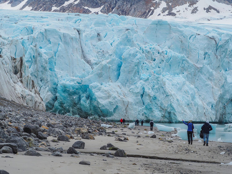 Pierwsza pilska wyprawa naukowa na Spitsbergen. Fot. Iwona Leśniewska