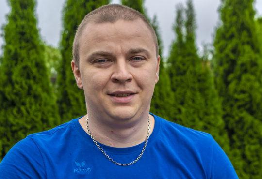 Arkadiusz Henicz. Fot. Marcin Maziarz