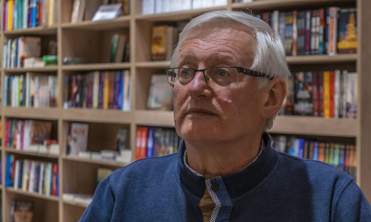 Jan Lus. Fot. Marcin Maziarz