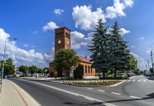 Rynek w Krajence. Fot. Marcin Maziarz