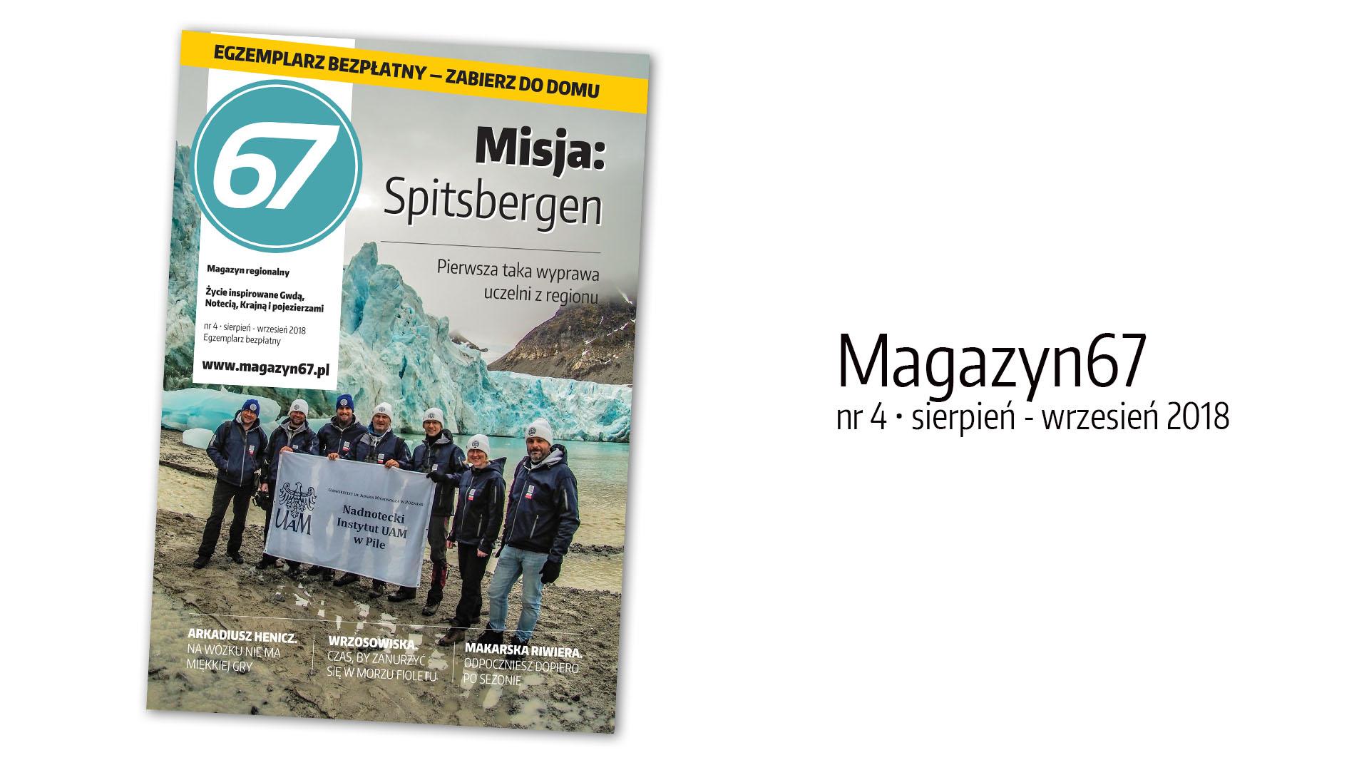 Magazyn67, nr 4, sierpień - wrzesień 2018