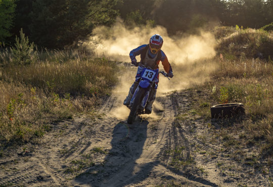 Motoprzygoda na torze motocrossowym w Pile. Fot. Marcin Maziarz