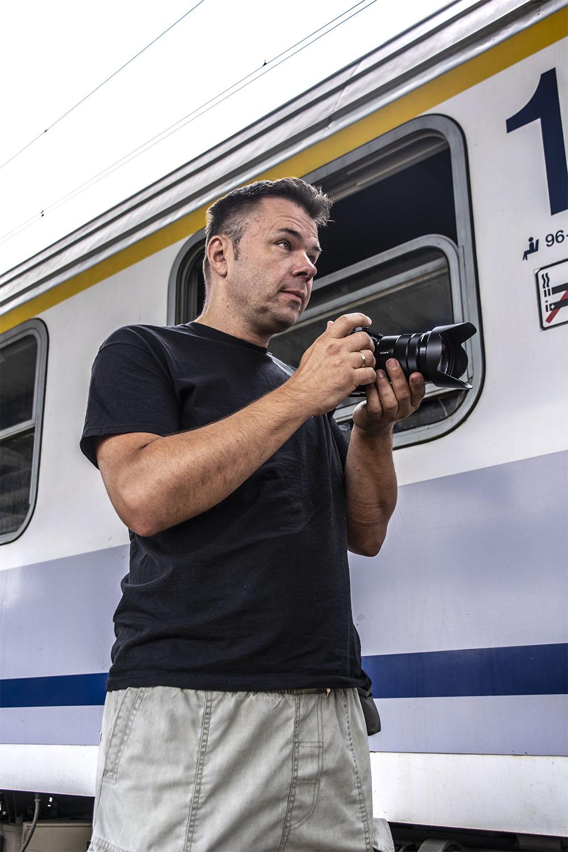 Piotr Chamczyk. Fot. Marcin Maziarz