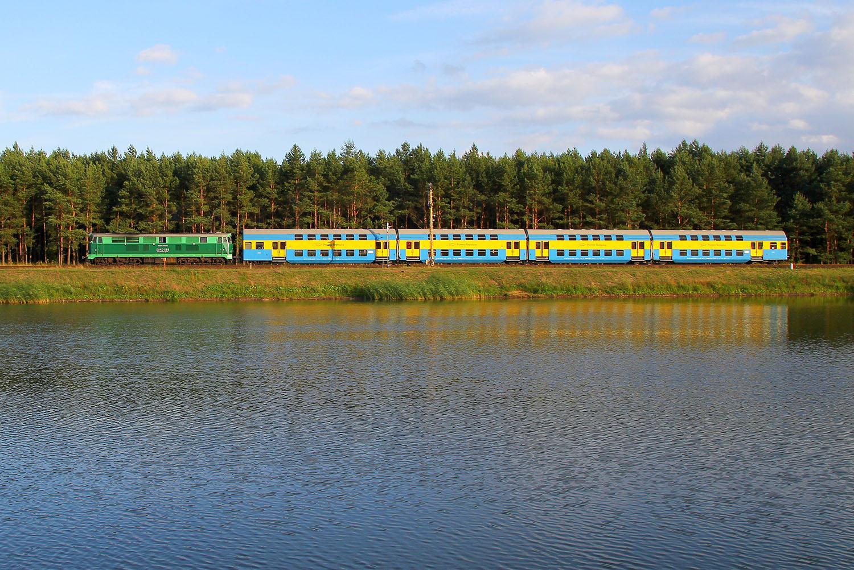 Pociąg na Przystanek Woodstock w Górkach Noteckich. Fot. Piotr Chamczyk