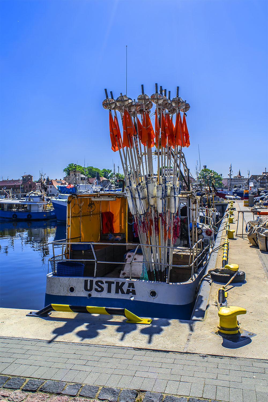 Port w Ustce. Fot. Marcin Maziarz
