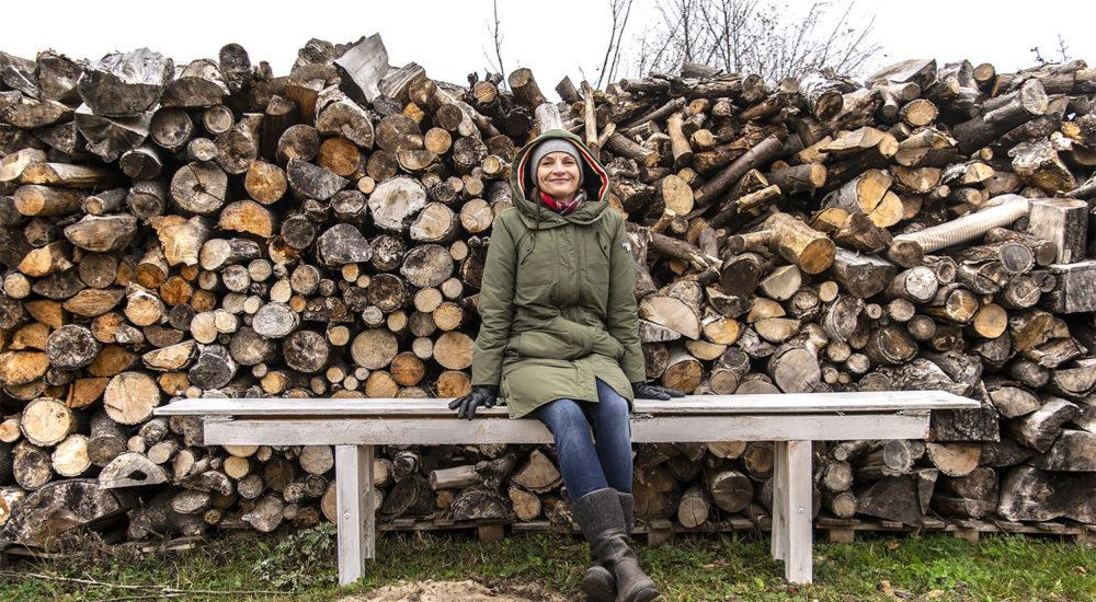 Anna Fonferek-Jendrysiak, gospodyni Lawendowego Lnu. Fot. Marcin Maziarz
