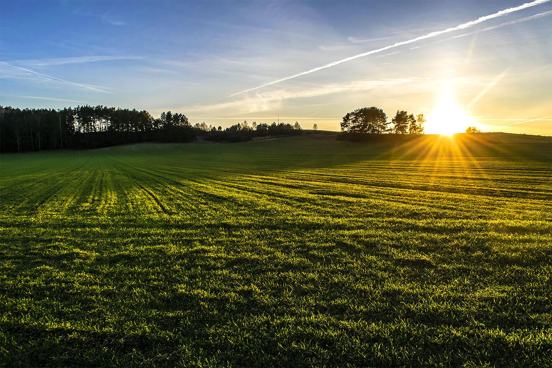 Marzec to idealny czas, by po pracy zdążyć na zachód słońca. Fot. Marcin Maziarz