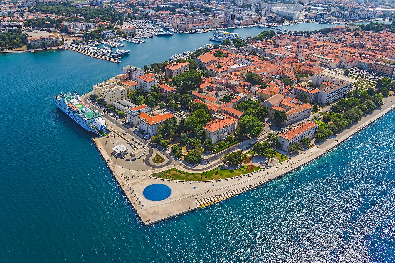 Zadar, Chorwacja. Fot. Chroma Stock