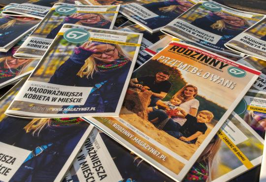 Piąty numer Magazynu67 i pierwszy - Rodzinnego Magazynu67. Fot. Marcin Maziarz