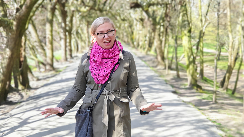 """Agnieszka Iwanicka, twórczyni grupy """"Agnieszka otwiera drzwi"""". Fot. Jarosław Zander"""