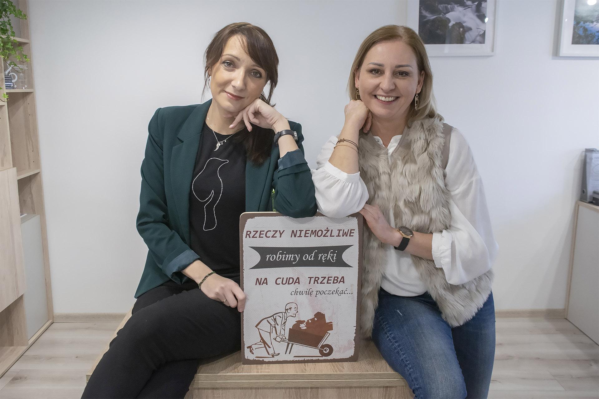 Anna Babij i Małgorzata Bohatkiewicz. Duet od trudnych spraw na styku biznesu i ochrony środowiska. Fot. Marcin Maziarz