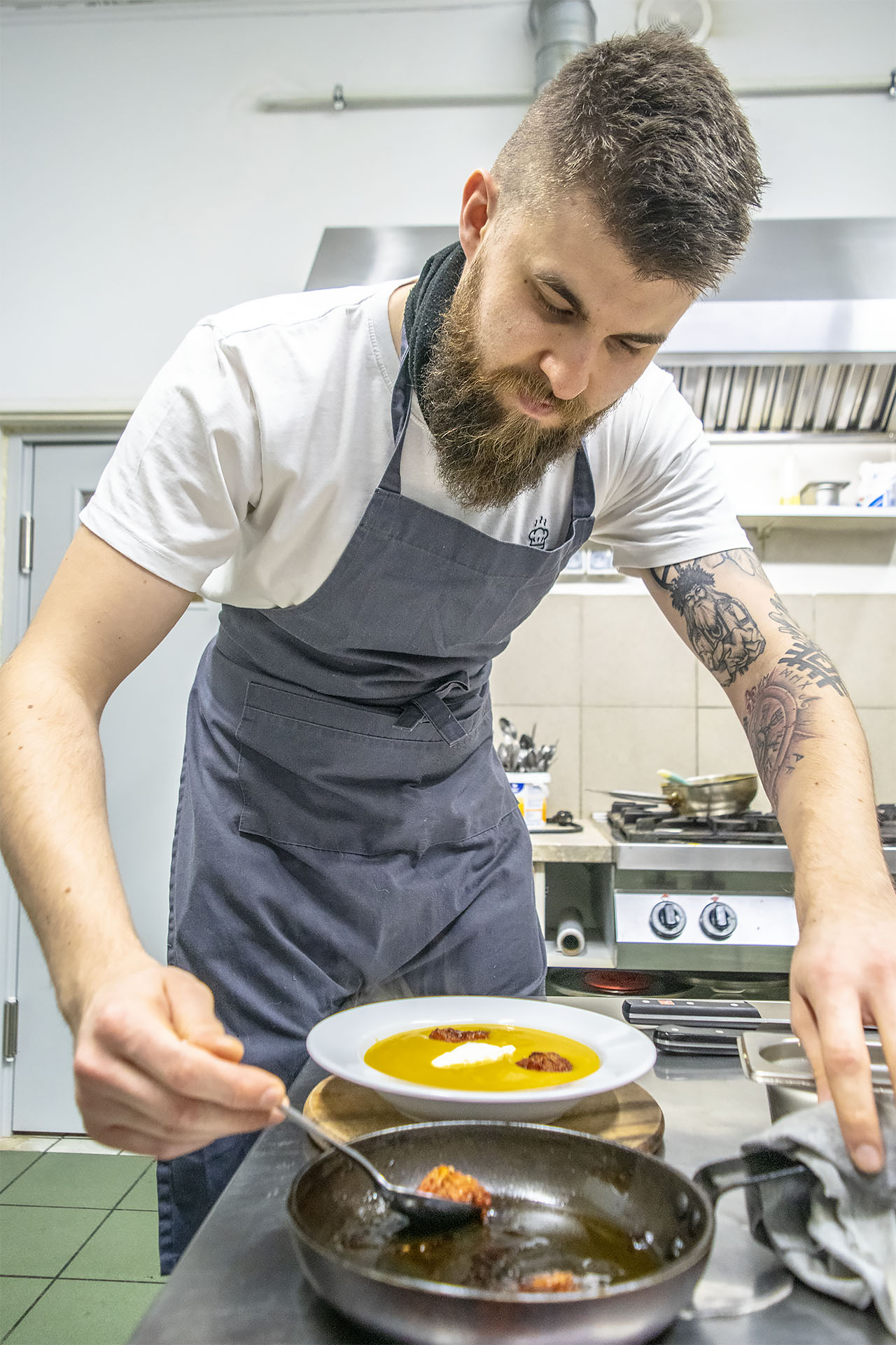 Mikołaj Siatkowski, Gastrosfera. Fot. Marcin Maziarz