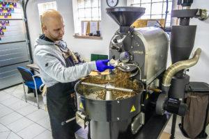 Coffee Cave: męska jaskinia pachnąca kawą