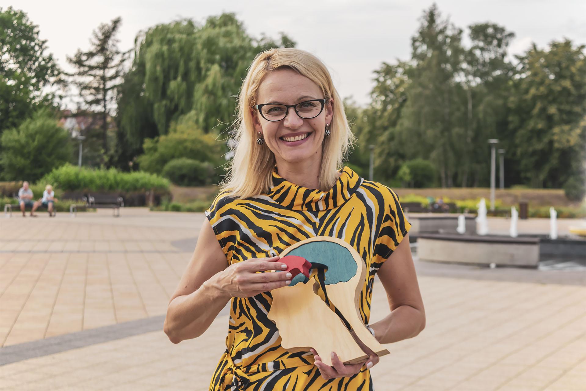 Monika Kłos. Fot. Marcin Maziarz