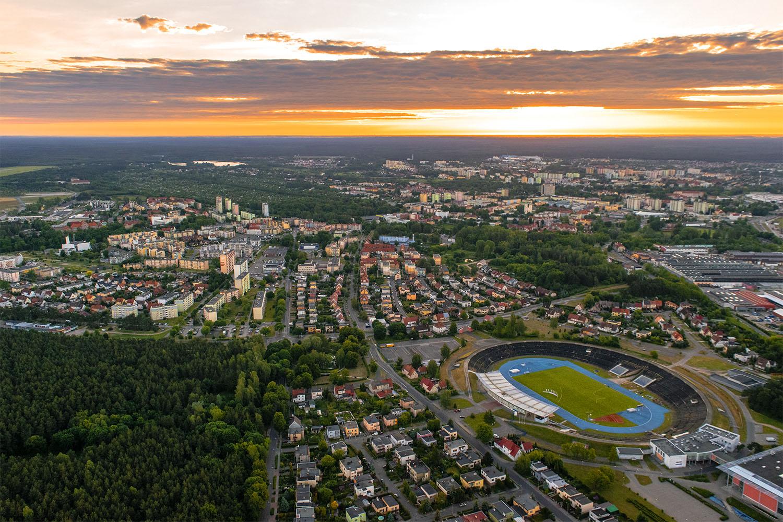 Panorama Piły. Fot. Marcin Maziarz