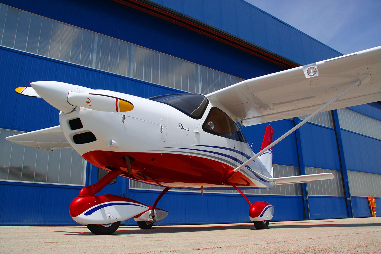 Tecnam P2008. Fot. Materiały prasowe Tecnam Aircraft