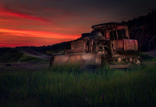 Tor motocrossowy. Fot. Kamil Binkis