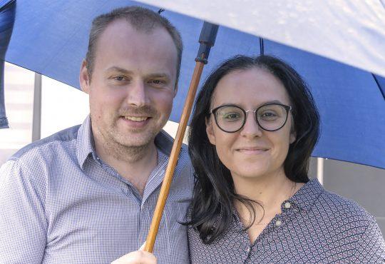 Magda i Mirek Joncel, czyli MJ Finanse we własnych osobach. Fot. Marcin Maziarz