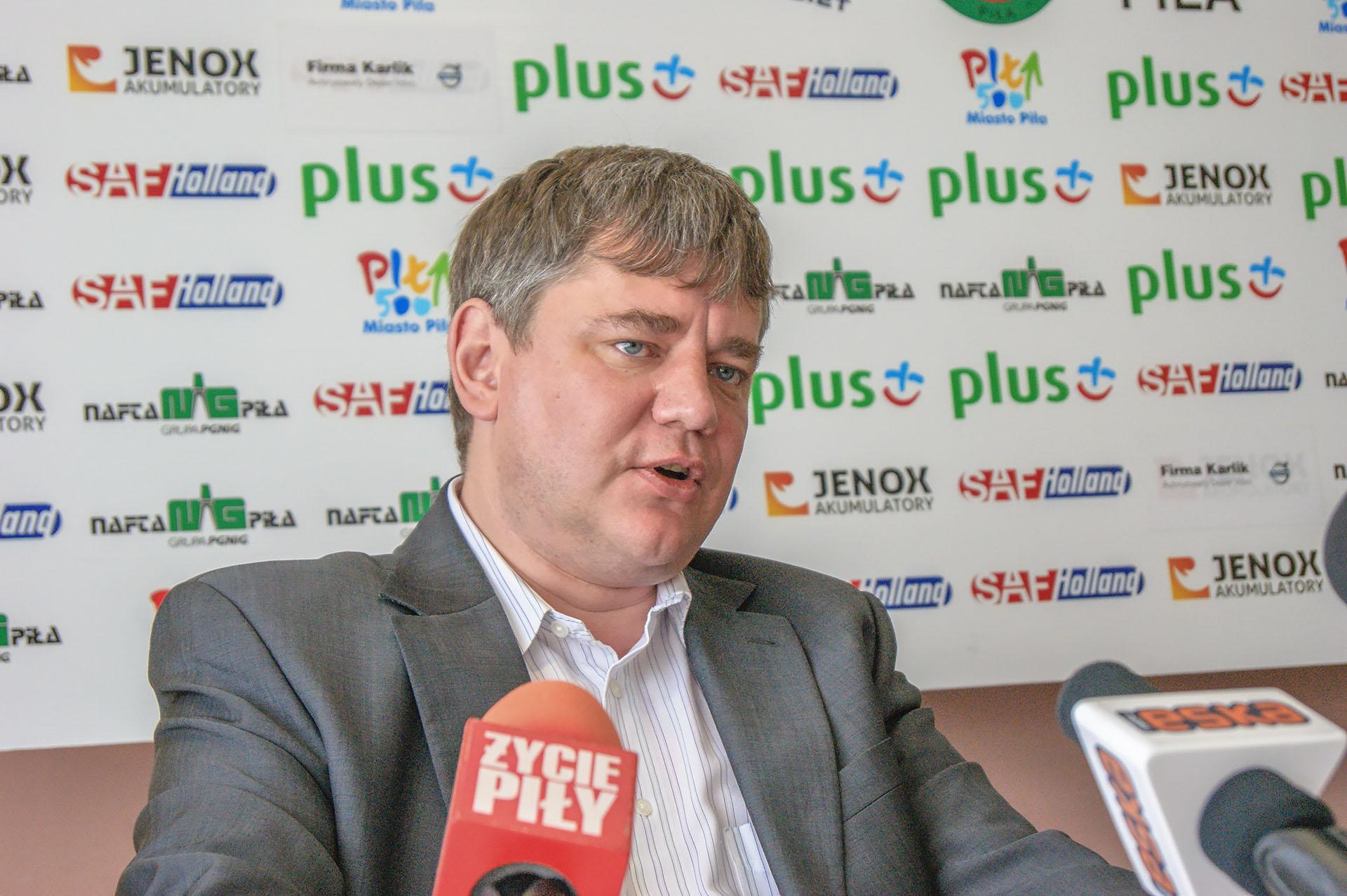 Radosław Ciemięga. Zdjęcie z roku 2012. Fot. Marcin Maziarz