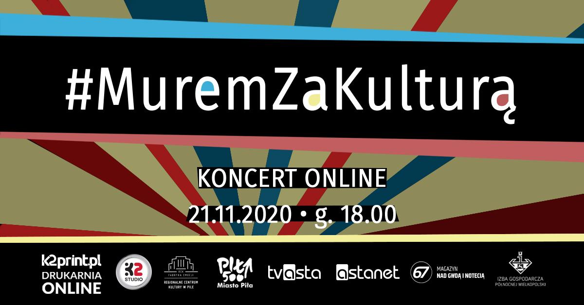 #MuremZaKulturą w sobotę, 21 listopada o 18.00