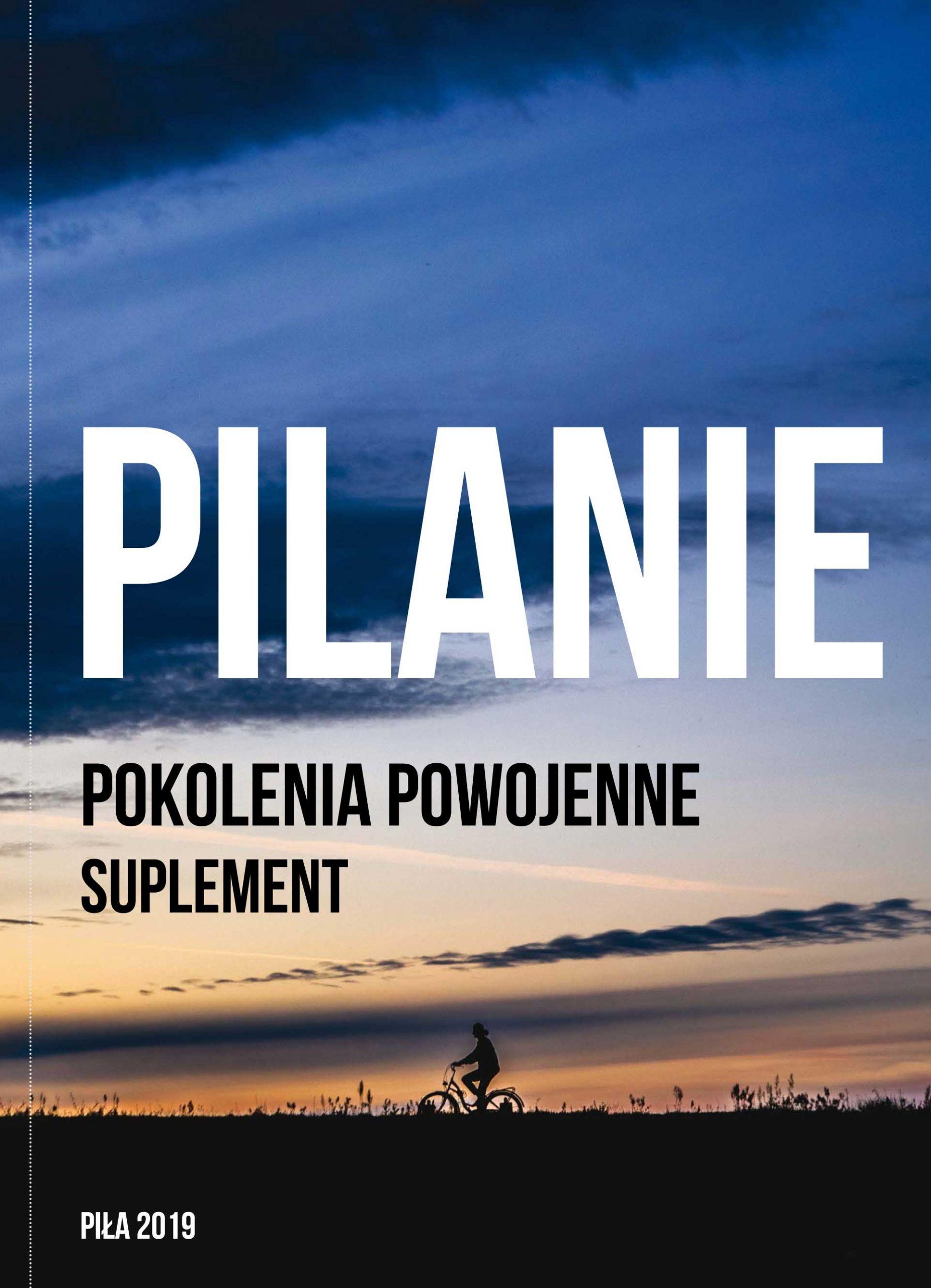 """Okładka książki """"Pilanie. Pokolenia powojenne. Suplement"""". Fot. Materiały prasowe"""