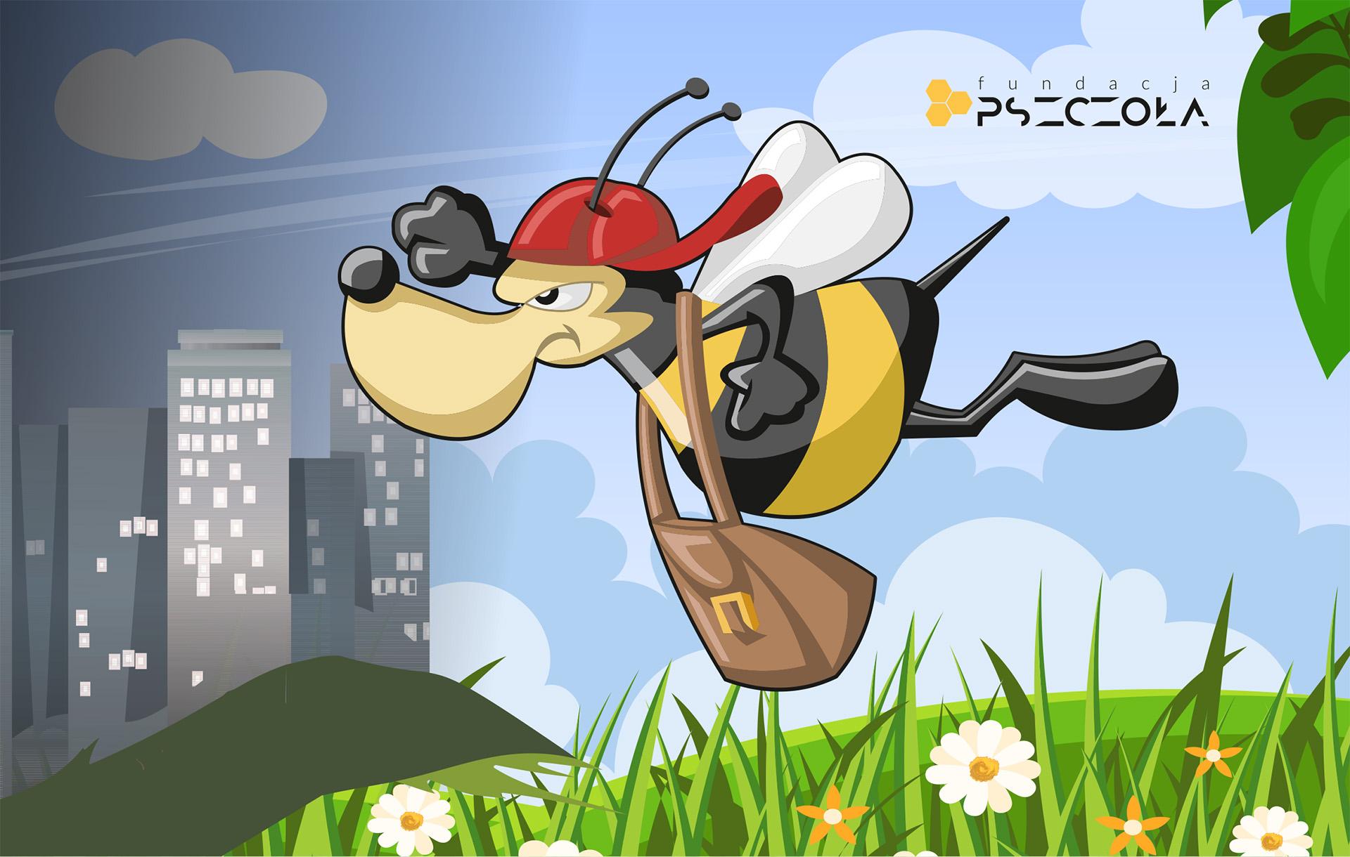 Mariolka promująca kampanię crowdfundingową Fundacji Pszczoła. Fot. Fundacja Pszczoła