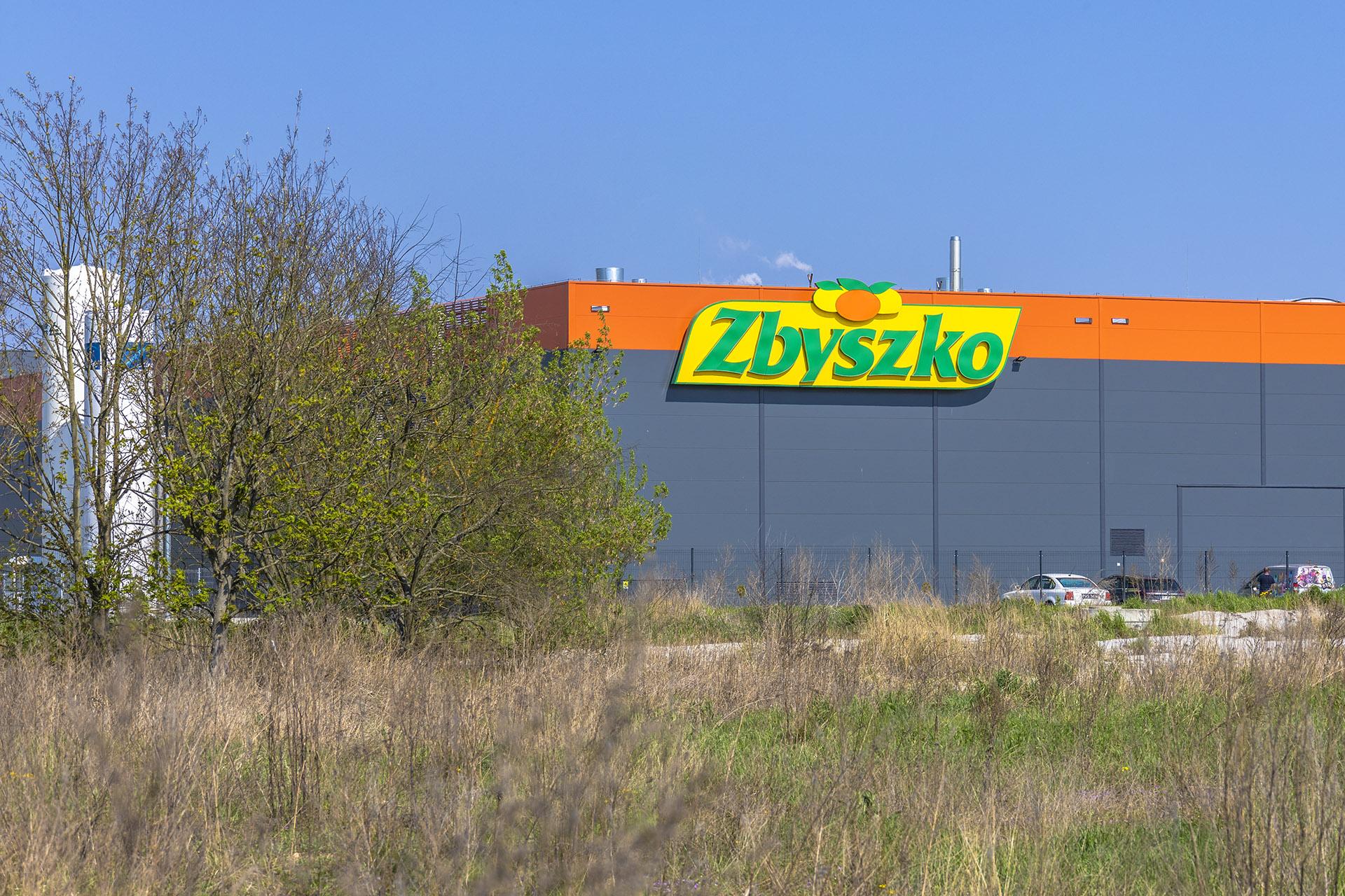 Fabryka napojów Zbyszko w Strefie Przemysłowej przy ulicy Młodych. Fot. Marcin Maziarz