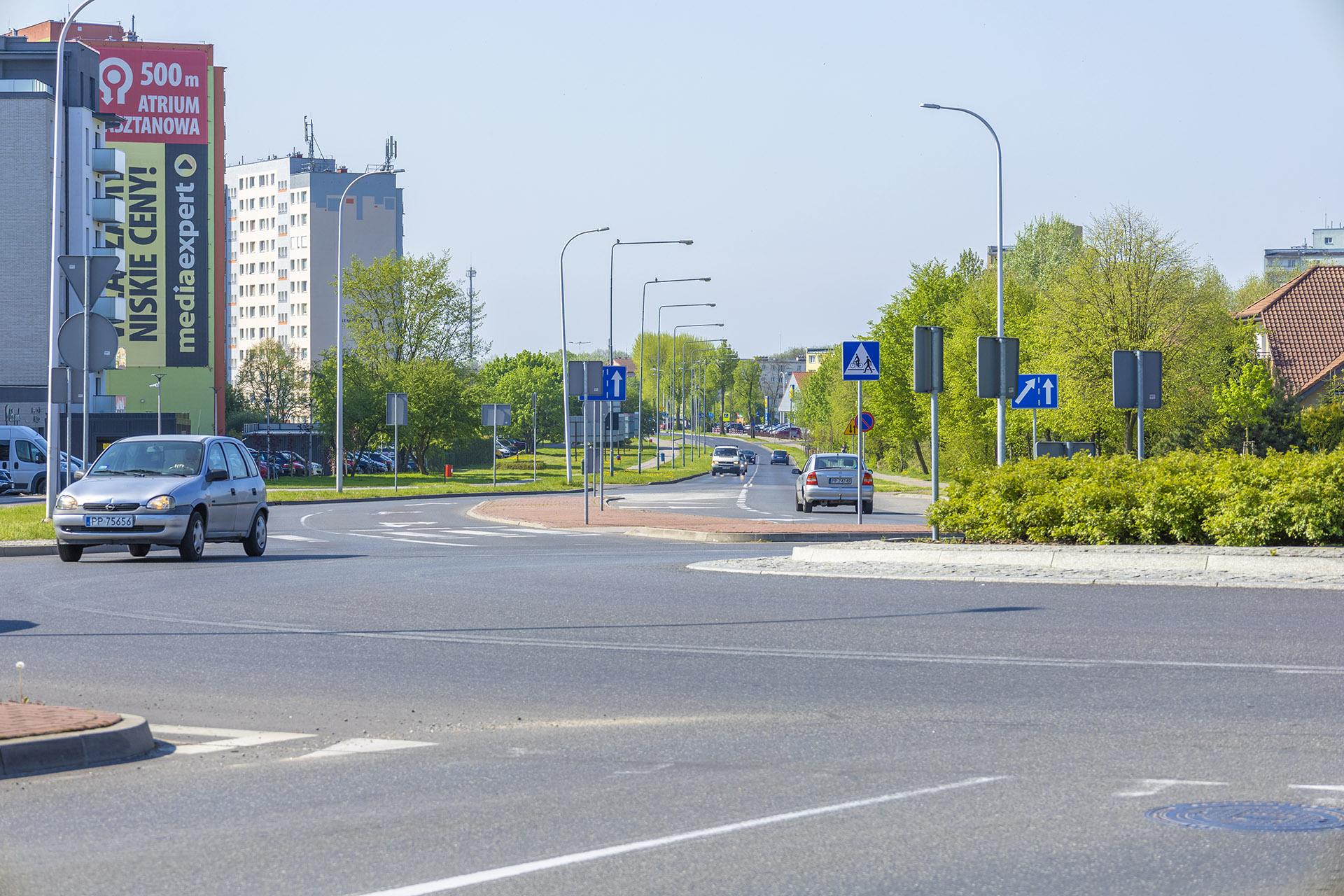 Obwodnica śródmiejska pozwala sprawnie dojechać do innych części miasta. Fot. Marcin Maziarz