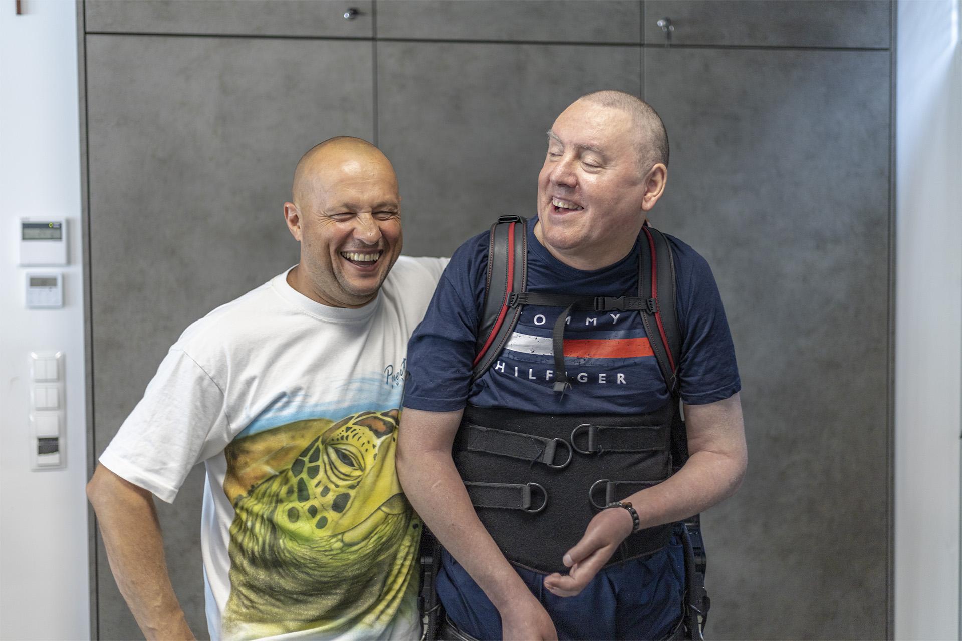 Krzysztof Trawiński i Piotr Wencka. Fot. Marcin Maziarz