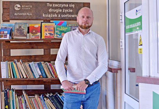 Tomasz Bielański, dyrektor Altvater Piła. Fot. Zuzanna Błaszczyk-Koniecko/Altvater Piła