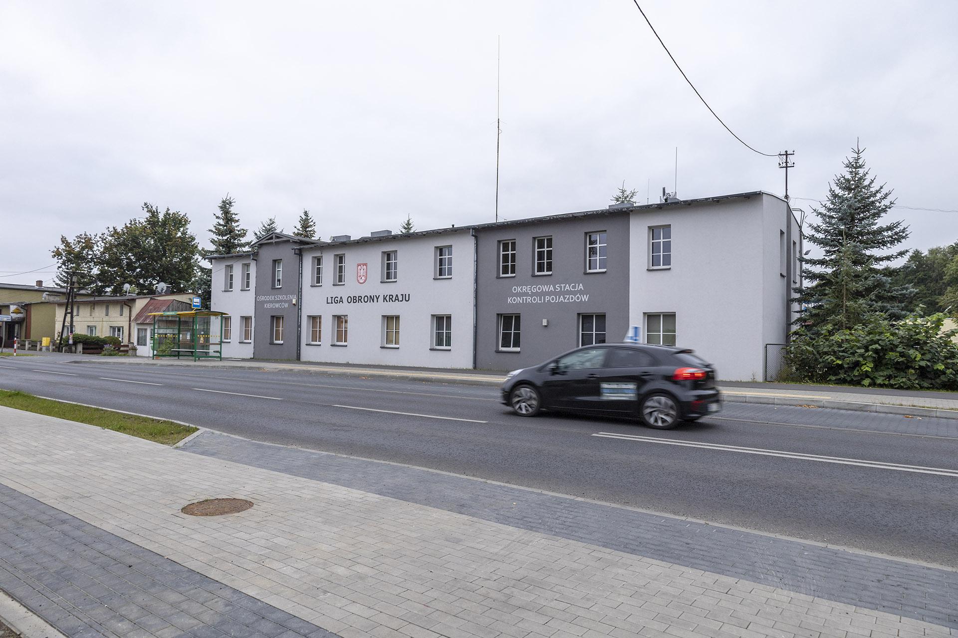 W budynku Ligi Obrony Kraju przed wojną mieściła się szkoła. Fot. Marcin Maziarz