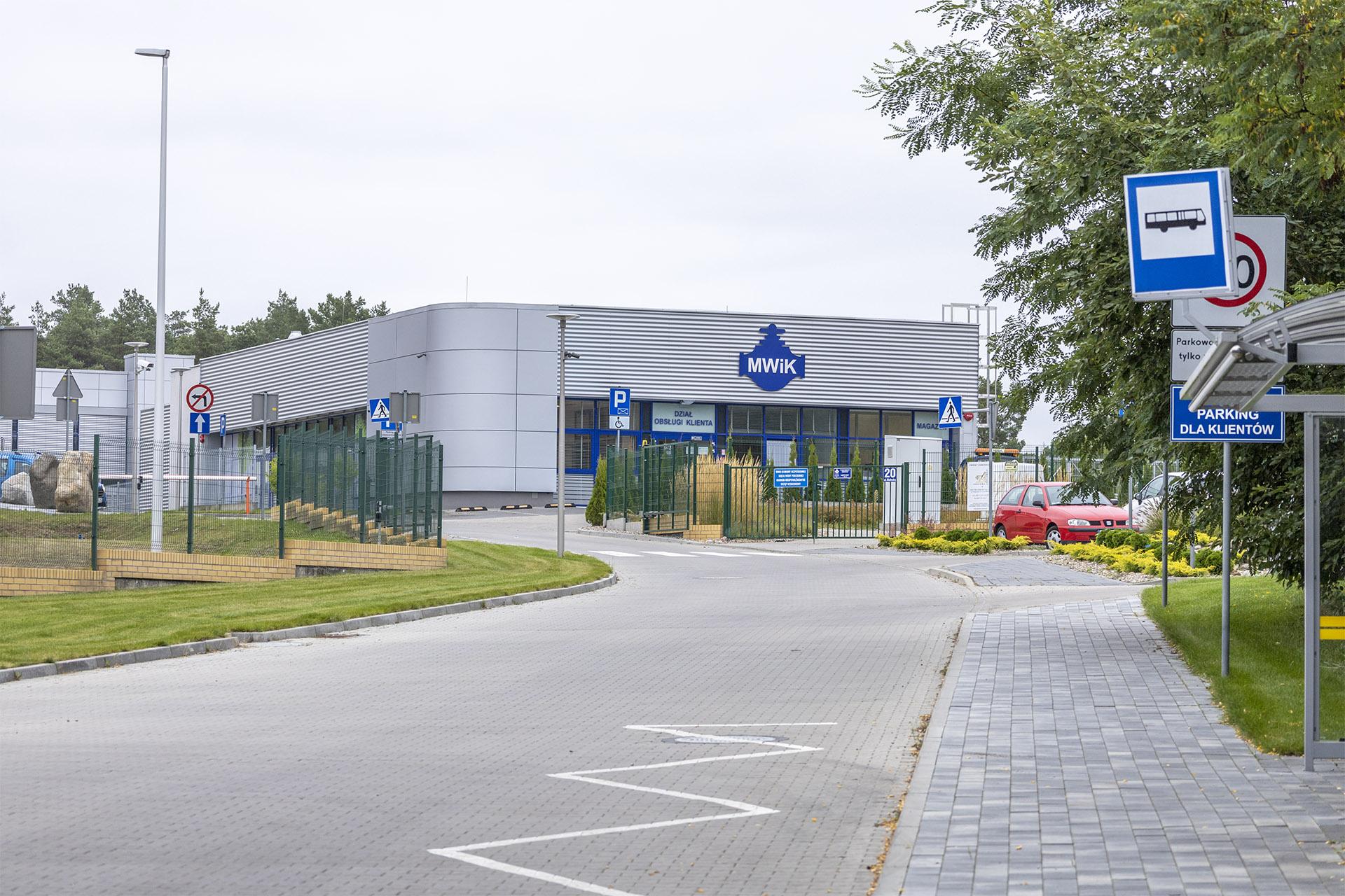 Miejskie Wodociągi i Kanalizacja przeprowadziły się do nowej siedziby przy Wałeckiej w 2019 r. Fot. Marcin Maziarz