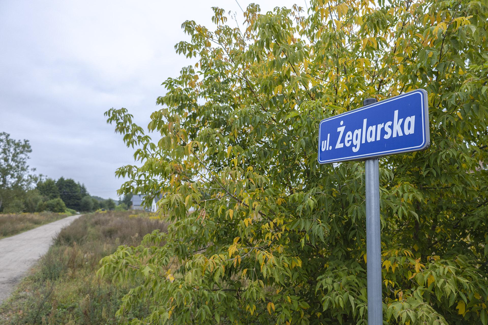 Ulica Żeglarska to jedna z najnowszych ulic w Pile. Fot. Marcin Maziarz