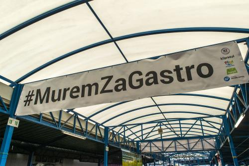 Pierwsza edycja #MuremZaGastro. Fot. Marcin Maziarz