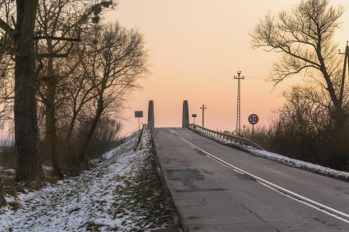 Dolina Noteci pod śniegiem. Fot. Marcin Maziarz